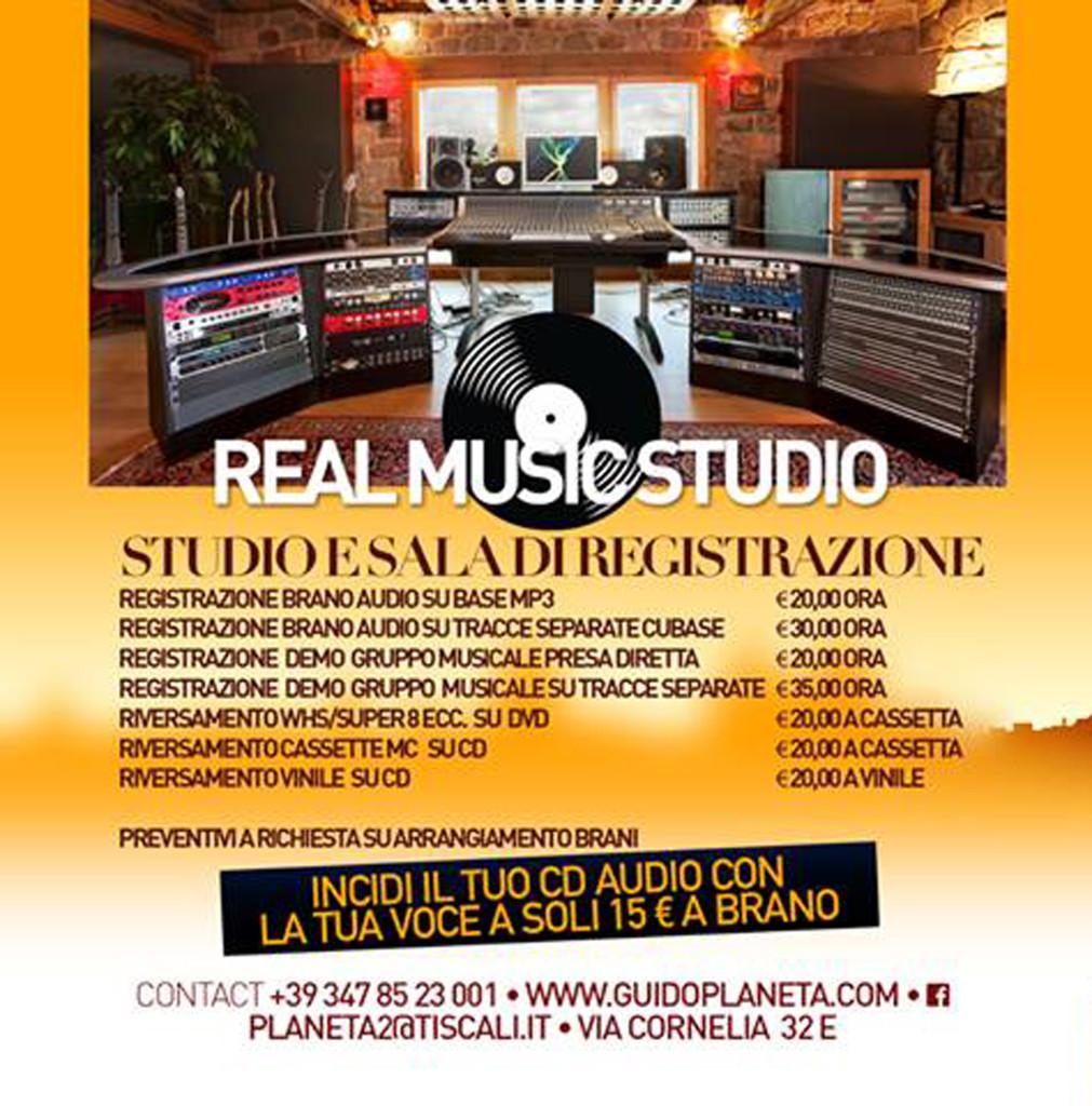 REAL RECORDING STUDIO ROMA